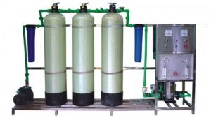 dàn lọc nước đóng chai 250L / h