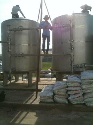 xử lý nước sông công nghiệp