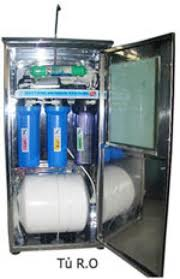 Máy lọc nước RO tủ inox
