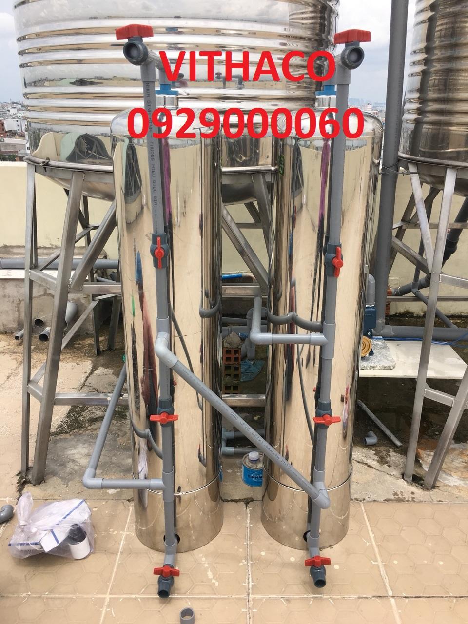 lọc nước phèn triệt để rẻ cty Việt-Thái BH 36th chính hãng lọc nước phèn vàng hôi tanh nâng PH