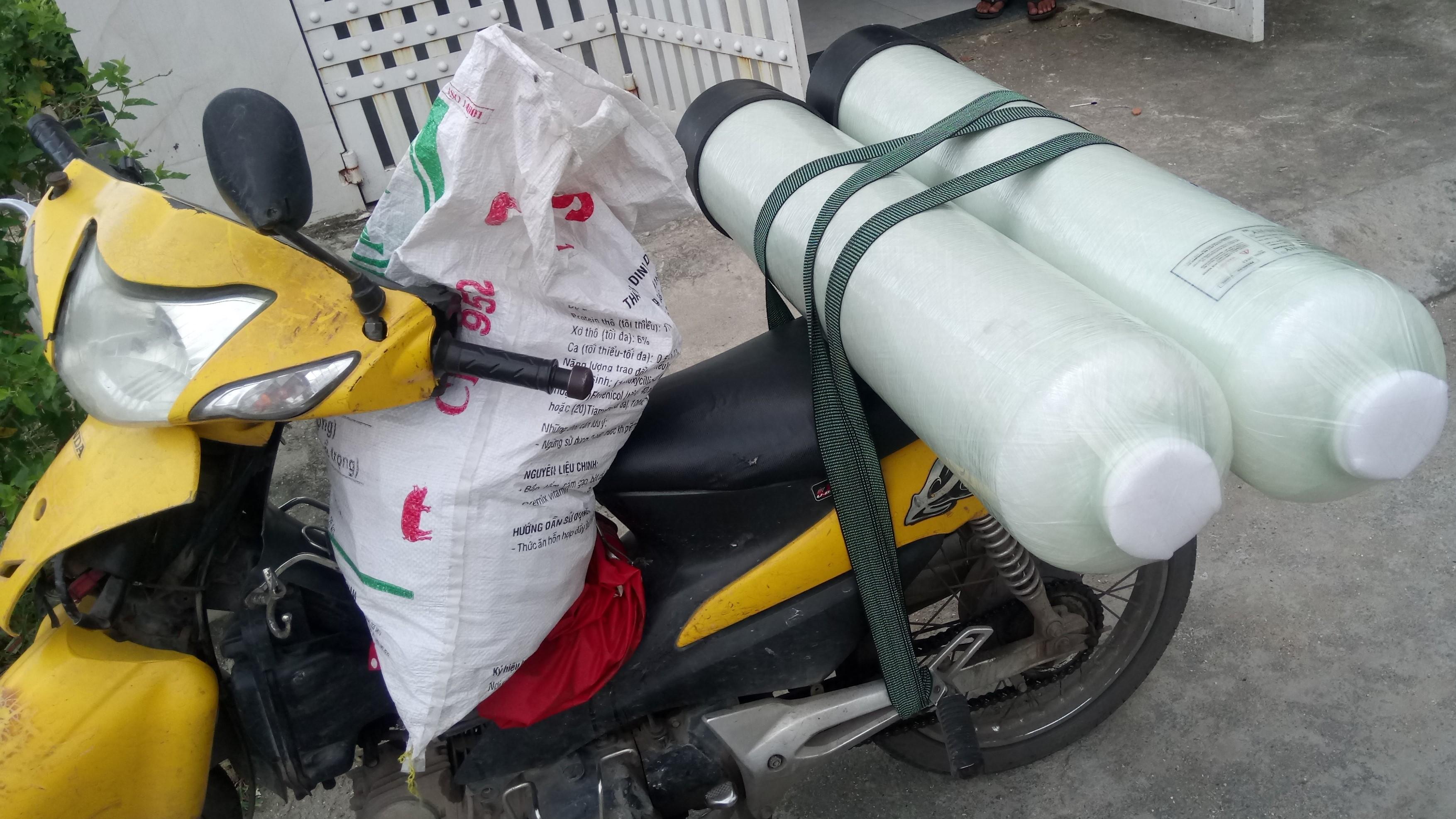 xử lý nước máy nhiễm phèn đục tại nhà a NAM ở khu tên lửa quận Bình Tân