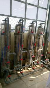 cách làm hệ thống lọc nước giếng khoan