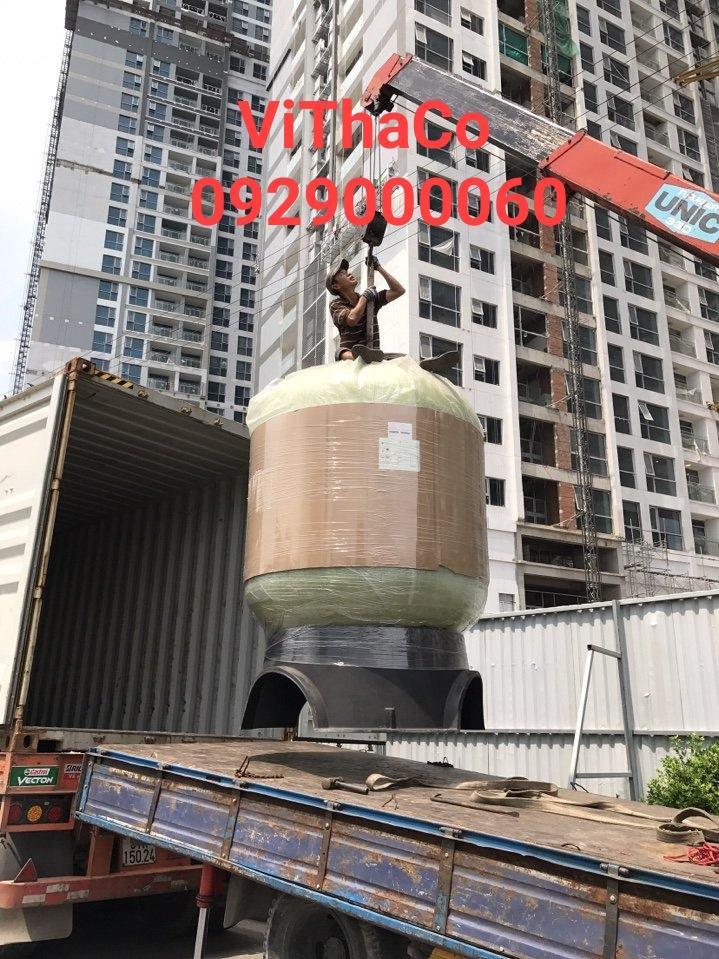 công trình lọc nước tại Thạnh xuận q.12 hcm