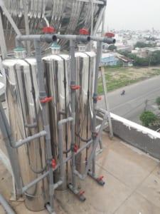 Lọc nước tại KDC An sương xử lý nước dự án An sương