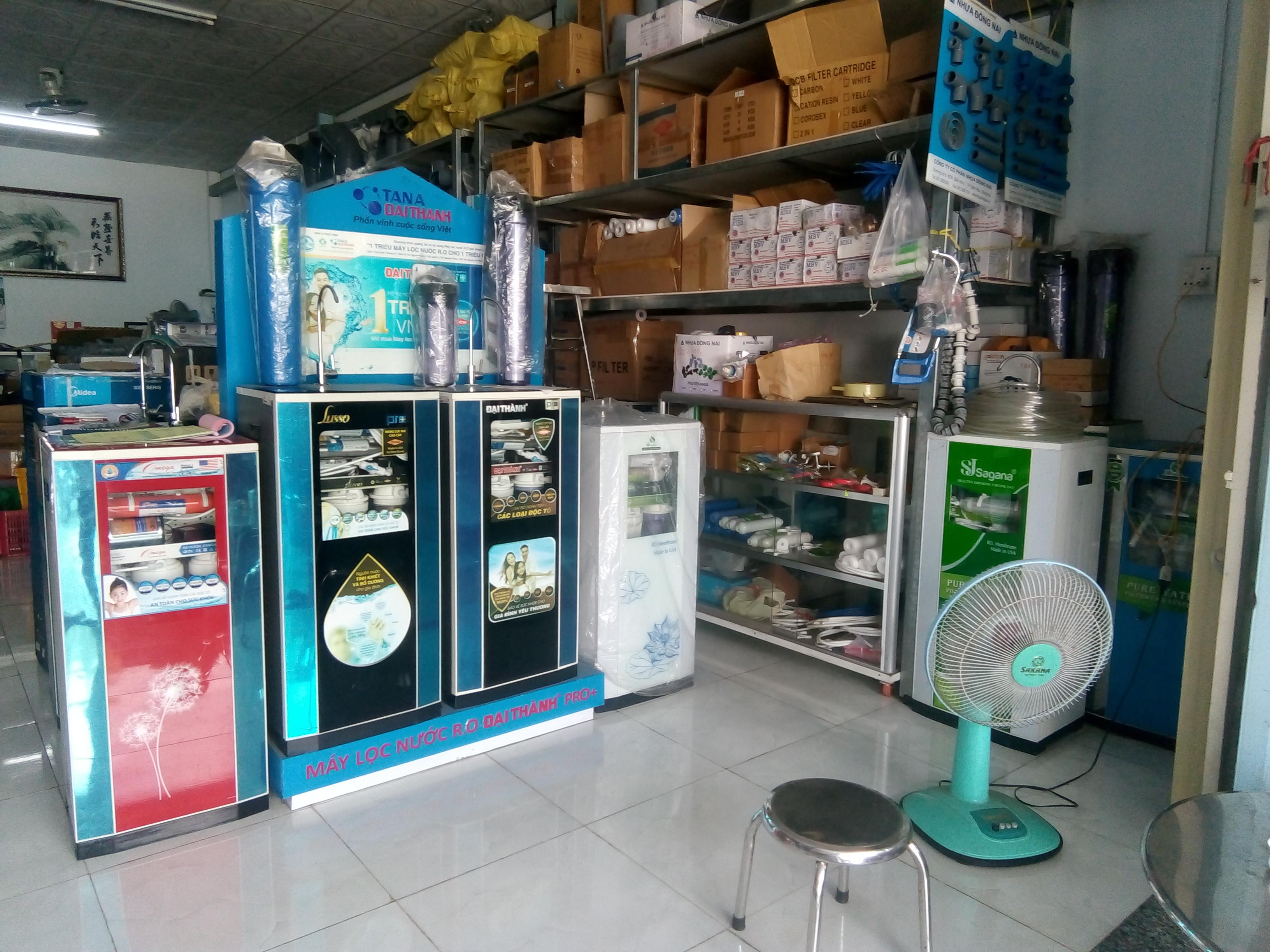 Vật liệu lọc nước vật tư xử lý nước giá gốc