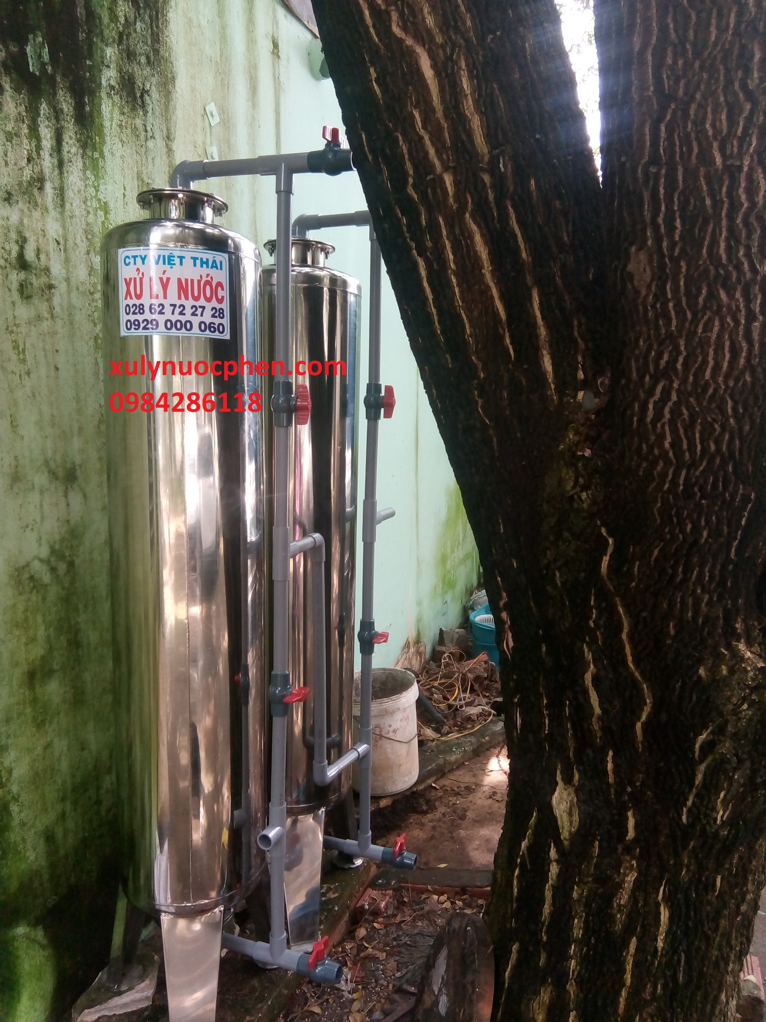 phương pháp xử lý nước tại trường học Nguyễn Bỉnh Khiêm Nhơn Trạch Đồng Nai