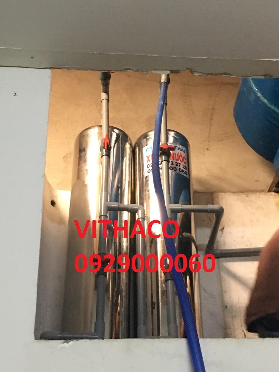 xử lý nước lọc nước Xa Phuoc Loi, Huyen Ben Luc, Tinh Long An nhiễm phèn sắt phèn vôi