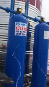 Bình lọc nước Composite Bình lọc nước Composite