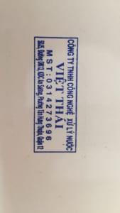 Công ty lọc nước Việt thái